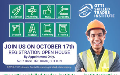 Registration Open House on October 17th