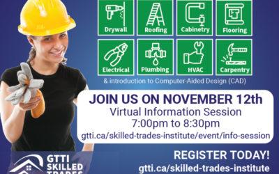 Skilled Trades Program Virtual Information Session