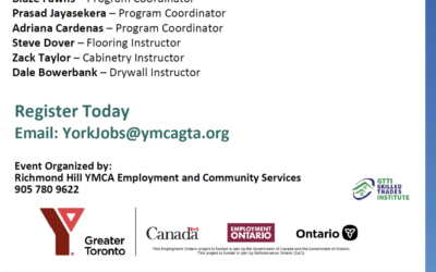 GTTI Skilled Trades Institute YMCA Virtual Information Session