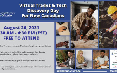Skills Ontario Virtual Trades & Tech Discovery Day